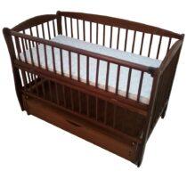 Детская кроватка DUBOC ELIT с ящиком цвета тик