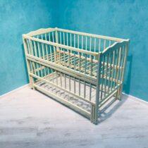 Детская кроватка DUBOC CLASIC без ящика цвет Айвори