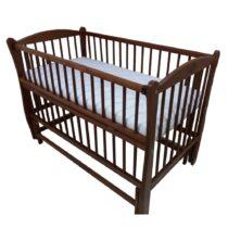 Детская кроватка DUBOC ELIT без ящика цвет орех