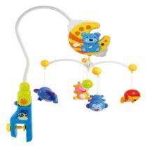 Carusel de plastic cu telecomanda Ursuleti Baby Mix HS-1377M