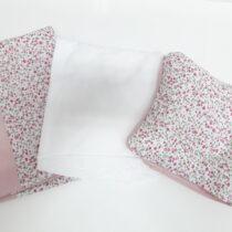 Сменная постель, розовые цветочки