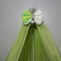 Балдахин шифоновый зеленый