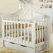 Кроватка ANGELO 7 белая