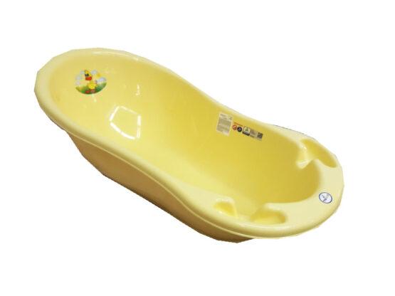 Ванночка Tega Baby Ванночка маленькая со сливом желтая