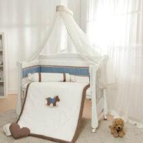 Детская постель 6 элементов Gigi Синий
