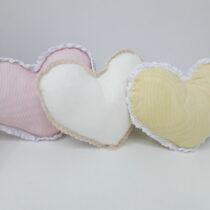 Подушки декоративные Сердечки маленькие
