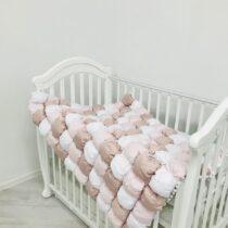 Одеяло BomBon 120*90 розовое из сатина