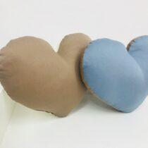 Подушки для новорожденных  декоративные Сердечки Gigi (разные цвета)