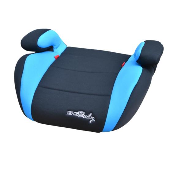 Бустер для детей в машину синий