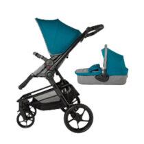 Коляска для детей с модульной системой  COCCOLLE Girasole 2 in1 голубая