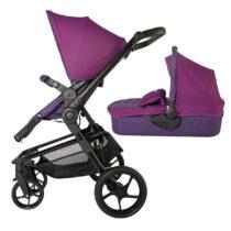 Коляска для детей с модульной системой  COCCOLLE Gigasole 2 in1 фиолетовая