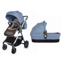 Коляска для детей с модульной системой COCCOLLE Acero 2 in 1 синяя