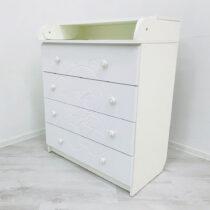 Комод пеленальный БАЛУ — Белый