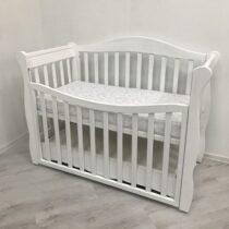 Кроватка MONICA цвет Белый