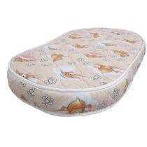 Матрас ортопедический для овальной кроватки Betty 10см Cocos-Termoflex (стеганный чехол)