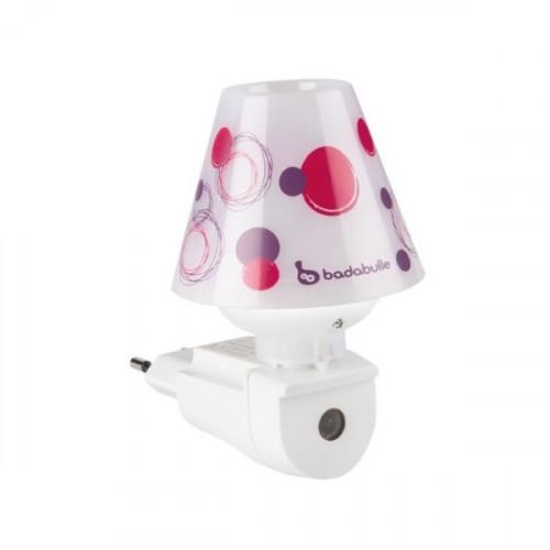 Lampa automata Badabulle Night Shade Plum