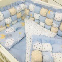 Детская постель BomBon голубая