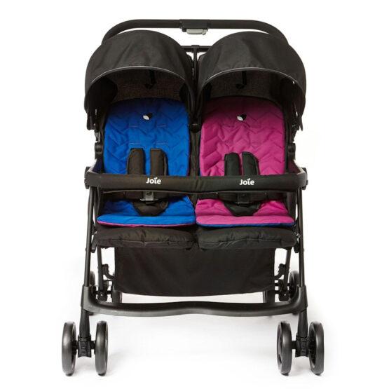 Коляска для двойни Joie Aire Twin Pink/Blue