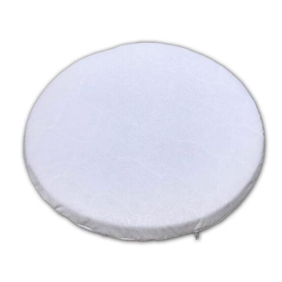 Saltea ortopedică rotunda Cocos-Termoflex-Cocos 60 cm (husa matlasata)