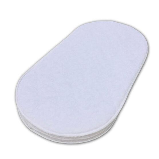Saltea ortopedică ovală Cocos-Termoflex-Cocos (husa matlasata)