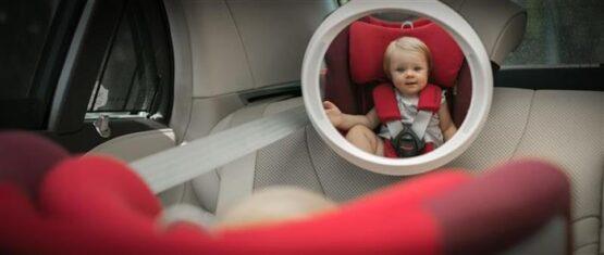 Oglinda Auto Apramo Iris Baby LED3