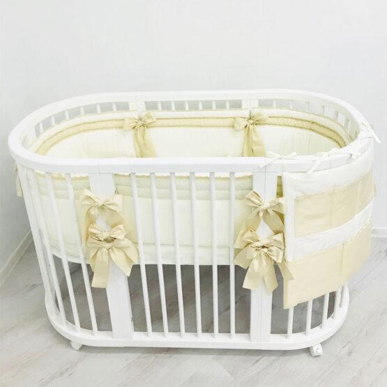 Set Oval 120 Anie Ivory Special Baby2