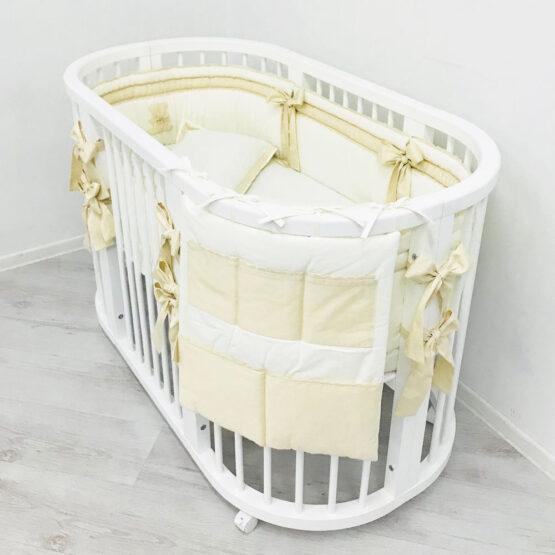 Set Oval 120 Anie Ivory Special Baby3