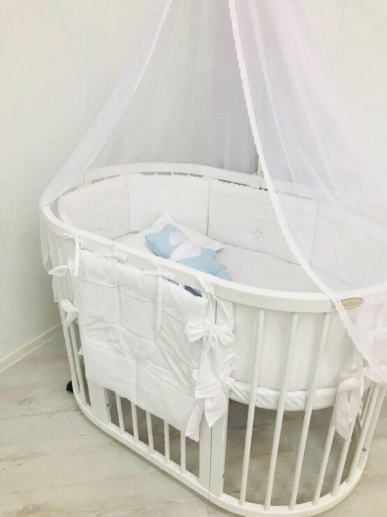 Set Oval 125 Anie Alb Special Baby1