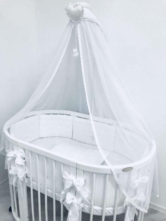 Set Oval 125 Anie Alb Special Baby5