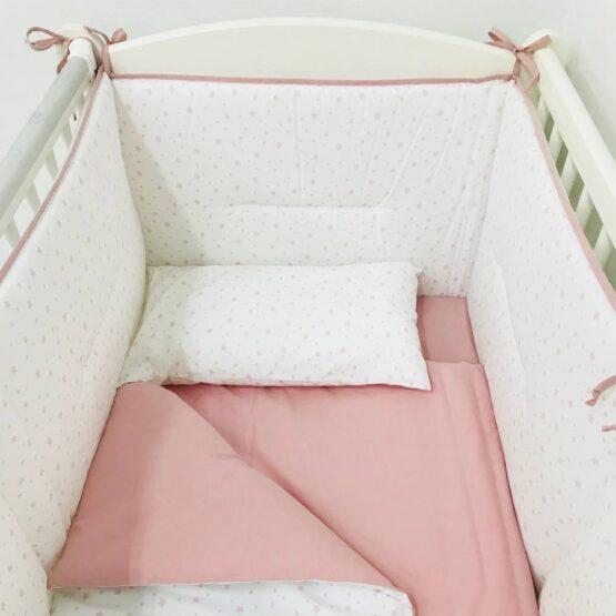 Set de lenjerie Stelute SPECIAL BABY Roz