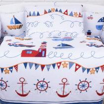 Бортики и сменная постель Домик на берегу