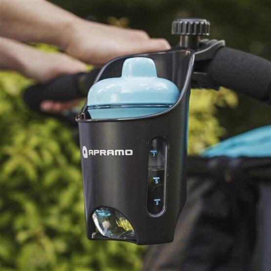 Универсальный держатель-подстаканник для бутылки, стакана на коляску Apramo