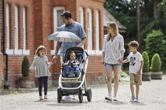 Umbrela anti UV pentru carucior Apramo2