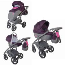 Модульная коляска 3 в 1 Coccolle Cassia Фиолетовый