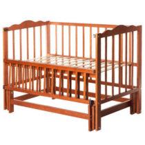 Кроватка КUZEA без ящика цвет Орех