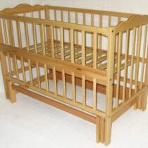 Кроватка КUZEA без ящика Натуральный