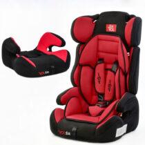 Автокресло универсальное Joy E 9-36 кг — Черный-Красный