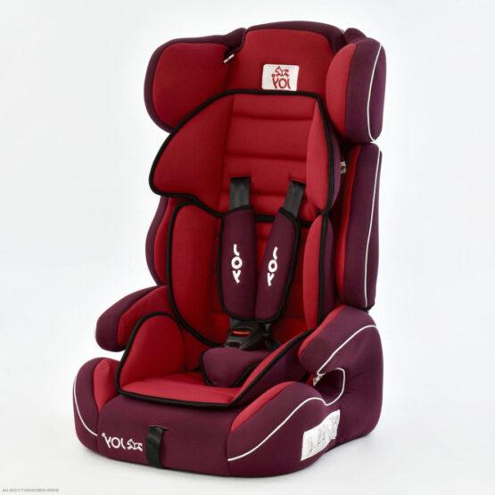 Scaun auto universal Joy E 9-36 kg – Roșu