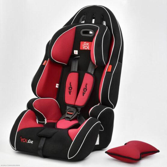 Авто кресло универсальное Joy G 9-36 кг — Чёрно-красный