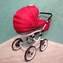 Классическая коляска Katrina 2 в 1 — Красный