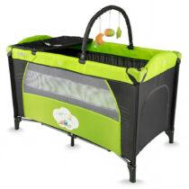 Кроватка манеж DHS TWINKLE Зеленый