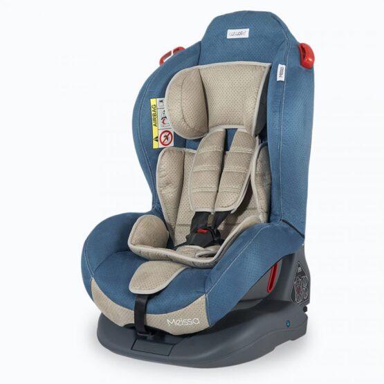 Scaun auto cu Isofix COCCOLLE MEISSA 0-25 Kg – Albastru
