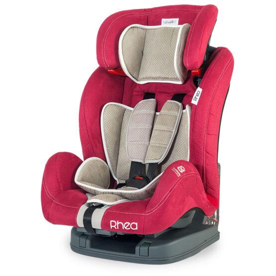 Scaun auto COCCOLLE RHEA GRUPA 9-36 KG – Roșu