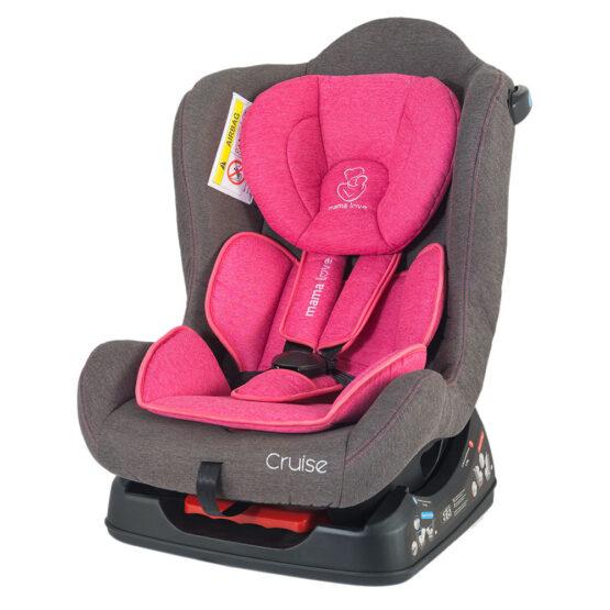 Scaun auto MamaLove Cruise – Розовый 0-18 kg