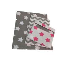 Сменная постель 3 элементов Zigzag – Серый