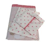 Сменная постель Romantic Twins — Розовый