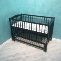 Детская кроватка DUBOC ELIT без ящика — Венге