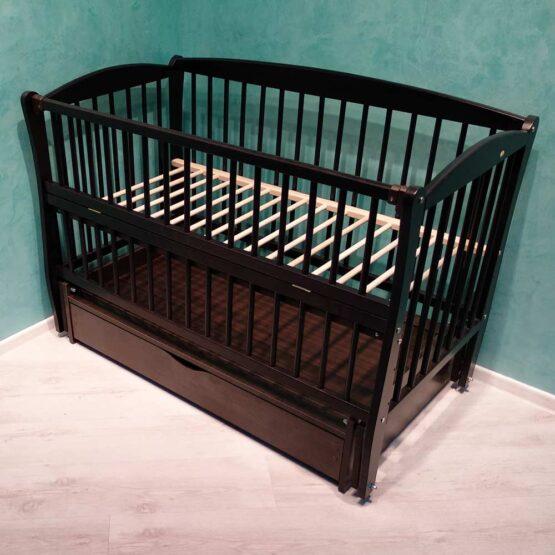 Детская кроватка DUBOC ELIT с ящиком цвет Венге