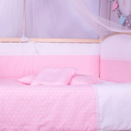 Набор постелей «Elegance» 8 элементов Розовый