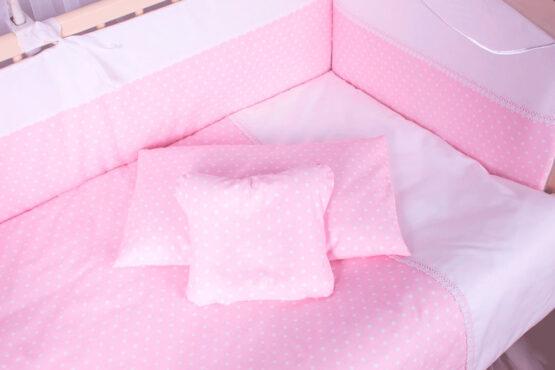Set de lenjerie 8 elemente Elegance roz pal3